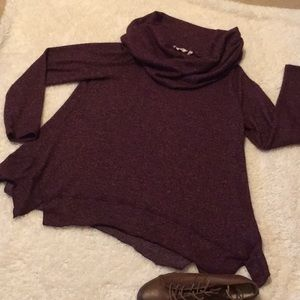 Cowl neck top by Soft Surroundings